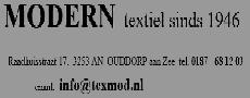 Textielhuis Modern Ouddorp