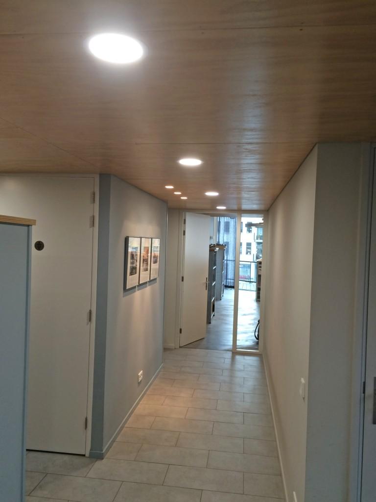 Strategie Architecten geeft invulling aan duurzaamheid door nieuwe LED verlichting