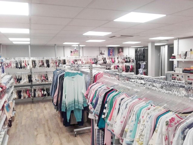 textielhuis modern met de nieuwe Led Panelen