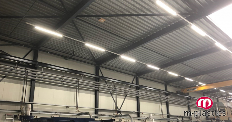 M-plastics en LED verlichting van Triple-A LED