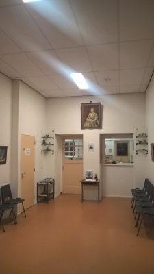 Wilhelminalinde wachtkamer